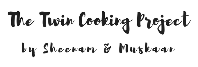 The Twin Cooking Project by Sheenam & Muskaan logo